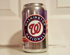 MLB Washington Nationals Mirror Chrome Can  Tumbler Glass