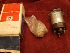 NOS GM DELCO REMY 1114458 Starter Solenoid Switch W/ Sealed Hardware/Instruction