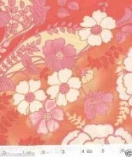 Evelyn Flowers in Pink - NEW Quilt Fabric - Free Shipping - 1 Yard