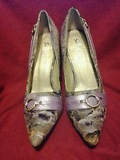 Womens SELINA by Summer Rio SIGFRID Size 8 - High Heel Shoes Purple Dressy shoes
