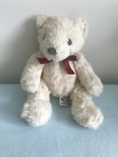 SMALL RUSS BERRIE SCHUBERT TEDDY BEAR PLUSH SOFT STUFFED ANIMAL TOY