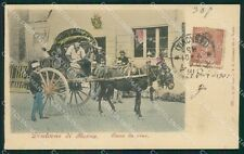 Roma Costumi Carro da Vino cartolina XB3835
