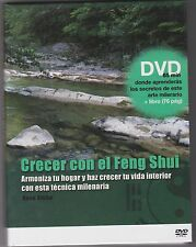 Crecer Con El Feng Shui..ROSA RIUBO..DVD AND BOOK TEXT AND LANGUAGE IN SPANISH
