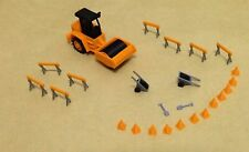 Outland Models Railroad Road Construction Accessories with Roller HO OO Scale