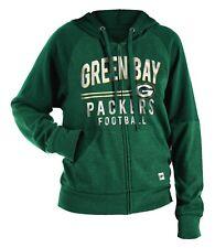 "Green Bay Packers Women's New Era NFL ""TD Play"" Tri-Blend Hooded Sweatshirt"