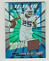 2019 PANINI DAY KICKOFF BURST FOIL GAME USED PATCH RELIC LM LeSEAN McCOY 49/50