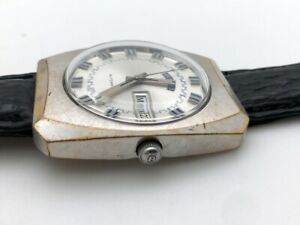 1960's BENRUS AUTOMATIC CLEAN ORIGINAL DIAL 35.5mm FULLY WORKING