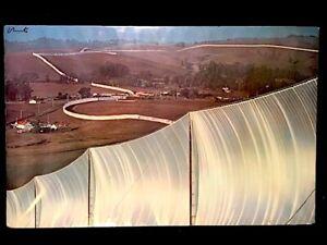Christo Running Fence original, signed poster