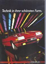 CITROEN BX Break - 2 opuscoli 1985-vedi immagini