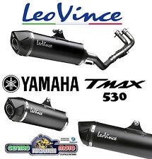 Marmitta Scarico Completo Originale LeoVince SBK 14000 Yamaha T-Max 530 2012/16
