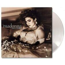 MADONNA LIKE A VIRGIN VINILE LP COLORATO LIMITED EDT.180 GRAMMI CLEAR VINYL