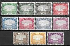 Aden stamps 1937 MI 1-11 MLH VF