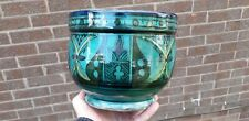 Old Iznik or Persian Islamic Middle Eastern Pottery Signed Plant Pot Vase A/F