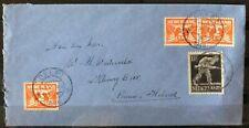 NEDERLAND; NVPH 428 + 3x 173 op brief met dagtekenstempel DELFT 1-7-46