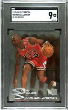 1995 Metal Slick Silver Michael Jordan #3 SGC 9