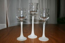 Partylite Iced Crystal Trio Votive Candle Holder
