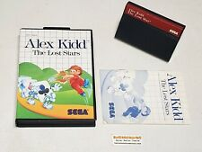 Alex Kidd The Lost Stars - Complete Sega Master System Game - Authentic