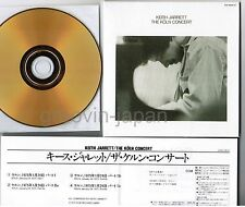 KEITH JARRETT The Köln Concert JAPAN Mini-LP CD 24k GOLD w/INSER UCCE-9011 FreeS