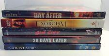 Five DVD Bundle. Sci-fi, Horror, Action.