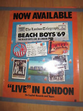 Beach Boys Live in London promo poster 18x24