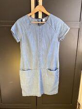 H&M Vestido Denim Talla 10