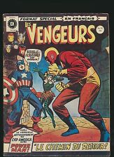 LES VENGEURS  19   RARE AVENGERS FRENCH HERITAGE