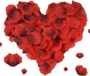 Red Silk Rose Petals Artificial Flower Petals Wedding Decoration Confetti Party