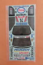 RC Tamiya Decal 58224 Peugeot 306 Maxi WRC NEU NIB 1998