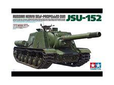 Tamiya 1/35 scale Russian JSU-152 tank model kit