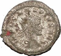 CLAUDIUS II Gothicus 268AD Ancient Roman Coin Juno Jupiter wife & sister  i57496