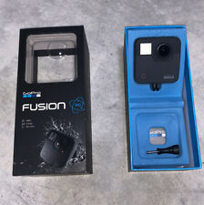 GoPro Fusion CHDHZ-103 Waterproof  360 Degree Digital Black Camera