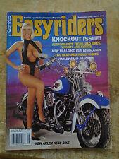 Easy Riders V-Twin Magazine sept. 1992 biker chopper #22