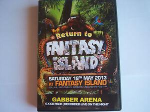UPRISING - 18.5.2013 - RETURN TO FANTASY ISLAND, GABBER  ARENA -  6 CD PACK