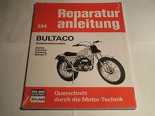 Reparaturanleitung Bultaco Alpina, Frontera, Pursang + Sherpa T
