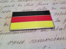 GERMAN CAR BADGE FLAG WITH 3M S/A MERCEDES AUDI BMW PORSCHE AUTOMOBILIA