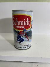Schmidt beer downhill ski scene