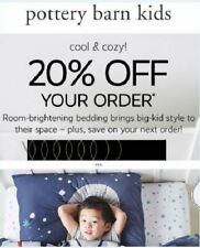 Pottery Barn kids Coupon 20% OFF Regular Price Purchase Ex- 11/12/20