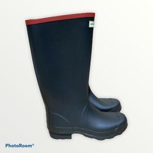 Hunter Argyll Full Knee Wellington Boots, Black, UK 8, EU 42