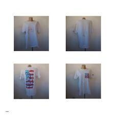 2 t-shirts signés PN 1964 2018 textile Patrick NICOLAS art-déco design France