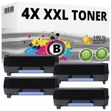 4 XL TONER für LEXMARK MS317DN MS517DN MS617DN MX317DN MX517DE MX617DE