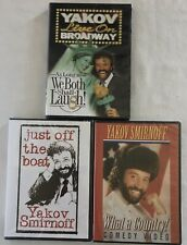 Yakov Smirnoff DVD Lot Live On Broadway What a country Just off the boat