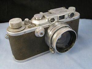 GENUINE VINTAGE 1930s LEICA DRP ERNST LEITZ WETZLAR CAMERA RANGEFINDER 35mm