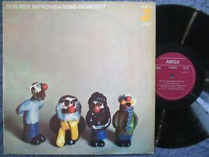 BERLINER IMPROVISATIONS-QUARTETT same / Avant Jazz LP DDR 1979 AMIGA 855717