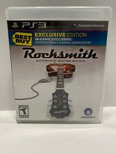 Rocksmith Best Buy Edition For PS3 PlayStation 3