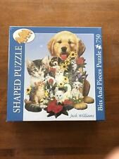 NIB SEALED BITS AND PIECES SHAPED PUZZLE 750 PIECES BEST FRIENDS 43931