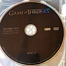 Game of Thrones Season 2 disc 4 Replacement Disc DVD ONLY