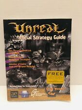 1998 UNREAL Official Strategy Guide Book