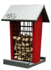 New! Amish-Made Whole Peanut Feeder Weatherproof Poly (Hanging)