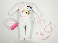 ♥ Neu ♥ Babykleidung |5-teilig| Erstausstattung, |Gr. 0-4 Monate (56/62)|