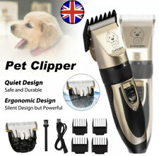 More details for titanium ceramic pet hair clippers grooming clipper shaver trimmer set new other